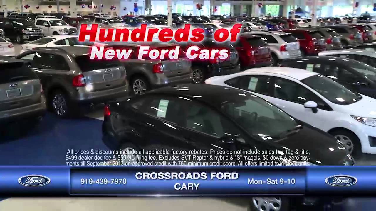 CrossRoads Ford Cary Red White U0026 You 5 22 13