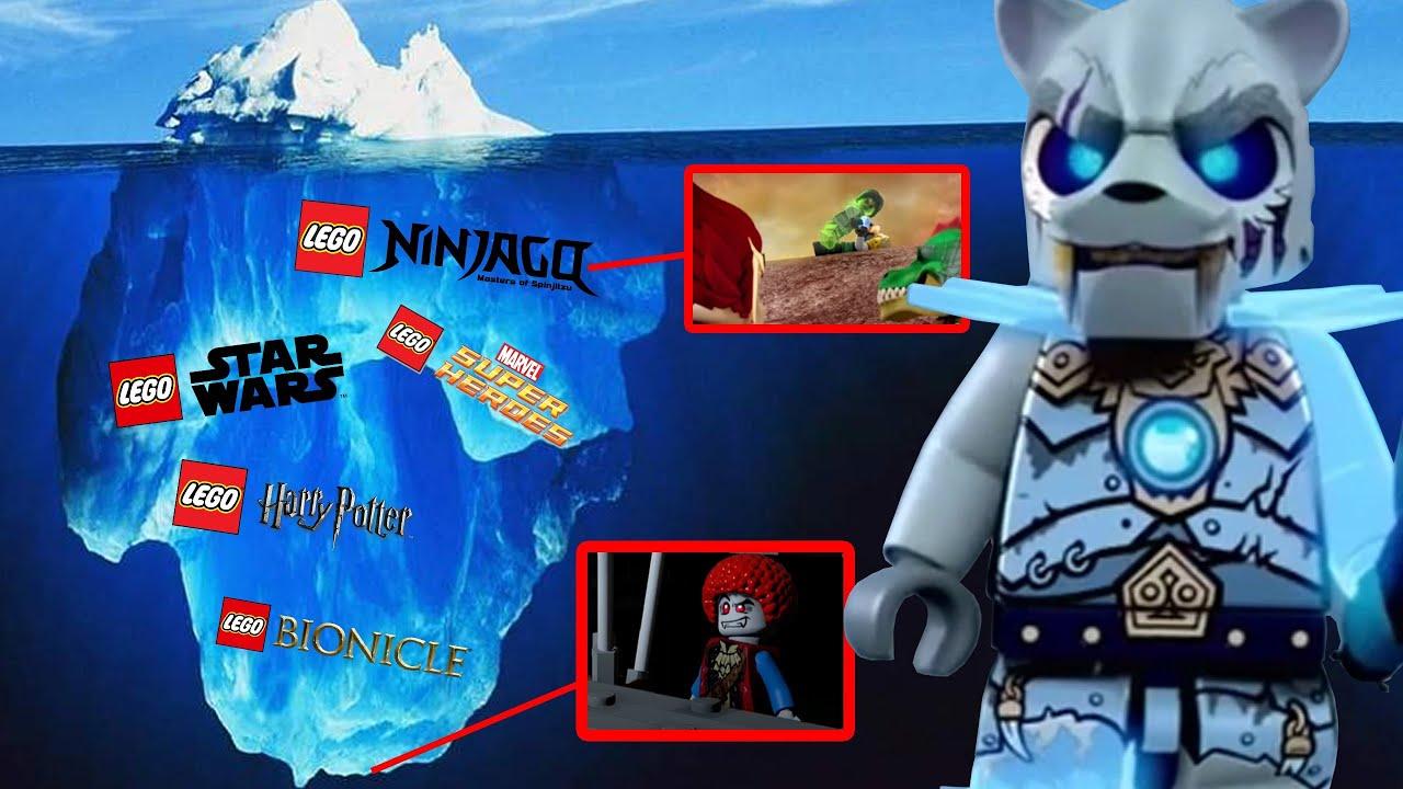 Разбор Айсберга по LEGO