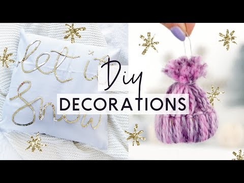DIY Christmas Decorations and Room Decor Ideas ❄️ Easy and Budget Friendly