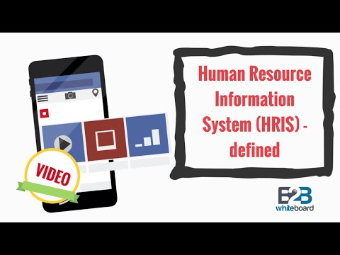 Human Resource Information System (HRIS) - defined