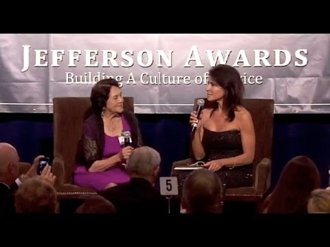 2013 Jefferson Awards recipient Dolores Huerta interview
