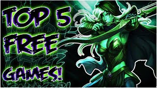 Top 5 ESSENTIAL Free PC Games On Steam!~Best Free PC Games 2017✔