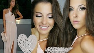 Get ready with me for a wedding! Makeup, hair and outfit!