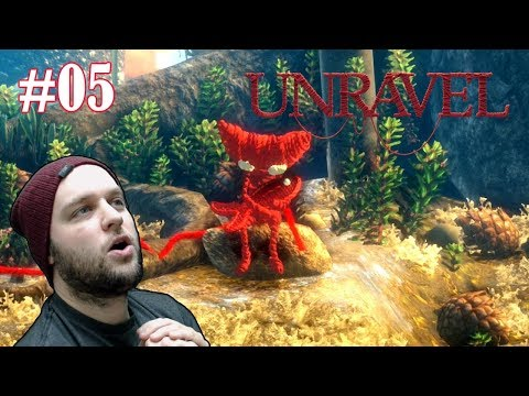 Stop Throwing Rocks At Me! - Unravel - Gameplay [#05]