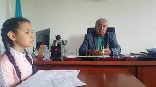 Интервью с акимом села Карабулак