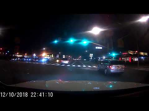 Blueskysea B1w Testing, Driving At Night