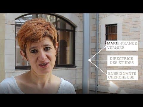 ESDES : Portrait de prof - Marie-France Vernier
