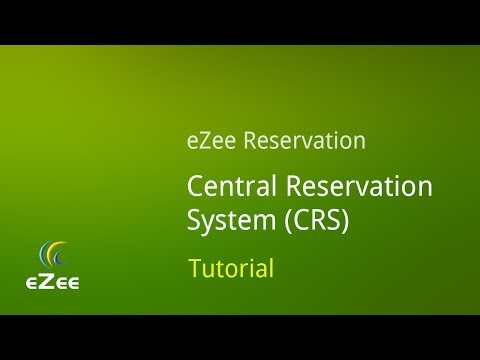 How To Manage Central Reservation System In EZee Reservation Online Hotel Booking Engine?
