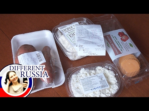 Provincial Russia: My Purchases in Organic Store in a Small City Near Moscow