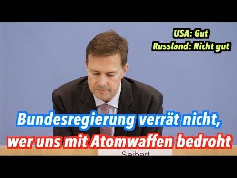 Welcher Staat bedroht Deutschland mit Atombomben? Bundesregierung will's nicht verraten