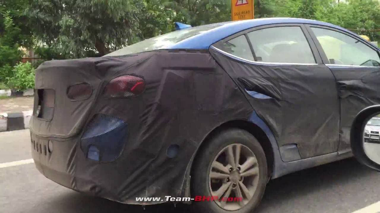 New Corolla Altis Review Team Bhp Grand Avanza 2018 Putih 2016 Elantra Spotted Testing In India Youtube