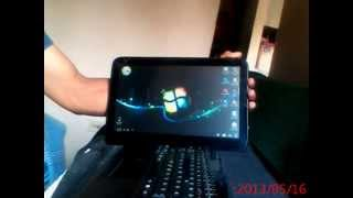 Sitema de Windows 7 en Tablet Vit