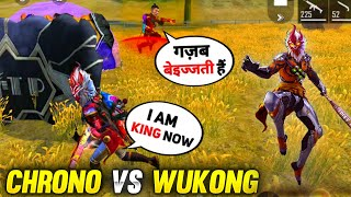 Wukong Vs Pro Players Insane Solo Vs Duo Game Play with New Diamond Royal Mr. NutCracker Bundle