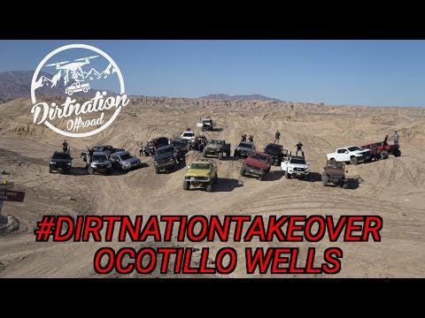 Everybody Breaking Down Today! Ocotillo Wells Dirtnation Takeover