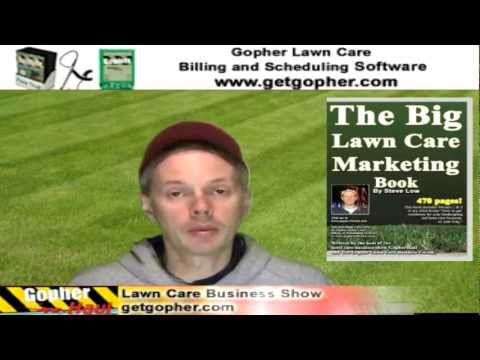 What are lawn care business overhead costs? GopherHaul 74 Lawn Care Business Book Show