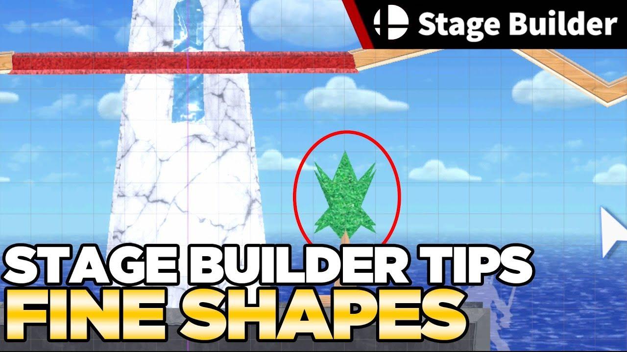 Fine Shapes - Smash Ultimate Stage Builder Guide