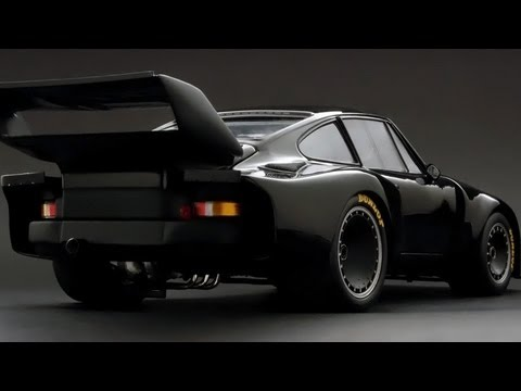 Black Bird Porsche 935 and 993 RWB