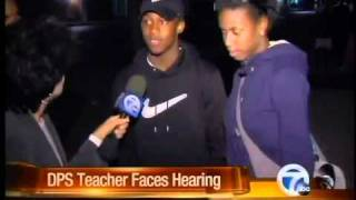 Teacher attacked in class faces hearing