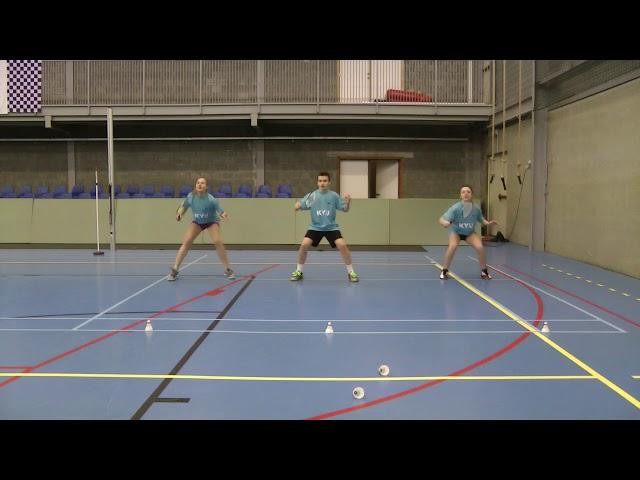 3.5.2 Footwork anticipatie snelheidswedstrijd