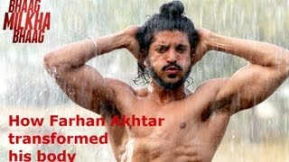 Bhaag Milkha Bhaag: How Farhan Akhtar transformed his body