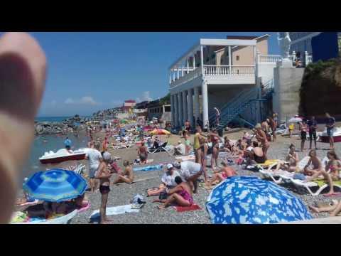 #Симферопольский_район #Крым#Николаевка  люди ещё не открыли курортный сезон очень мало  #29июня2017