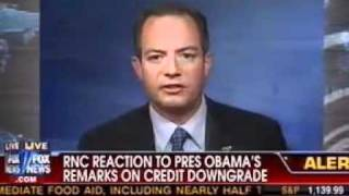 Chairman Reince Priebus on America Live with Megyn Kelly 8-08-11