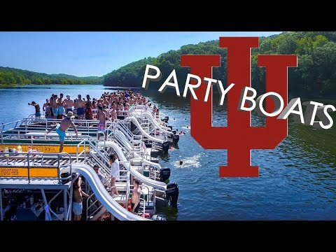 Party Boats at Indiana University (Bloomington, Indiana)