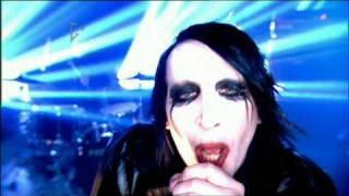 Marilyn Manson Heart Shaped Glasses Live Tv HD By Taliin Pork