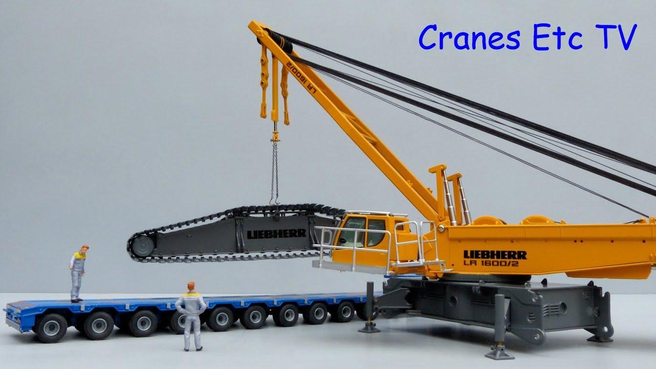 NZG Liebherr LR 1600/2 Crawler Crane by Cranes Etc TV