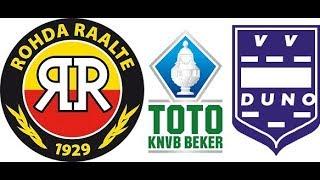 Samenvatting ROHDA Raalte - Duno D. TOTO KNVB BEKER
