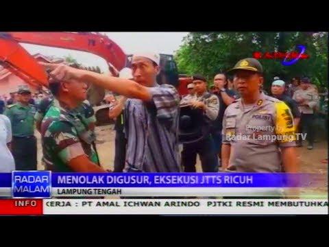 Menolak Rumah dan Lahannya Digusur Akhirnya Eksekusi Jalan Tol Sumatera Ricuh