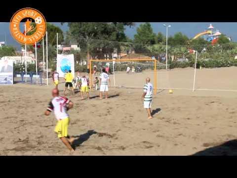 IVFA SPORT plaj futbolunda-Gümüldür/İzmir