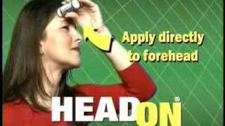 HEADON!  Apply directly to the forehead! thumbnail