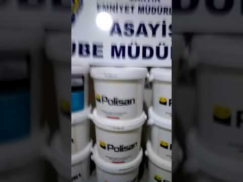 Sahte boya marka dolandırıcılarına operasyon