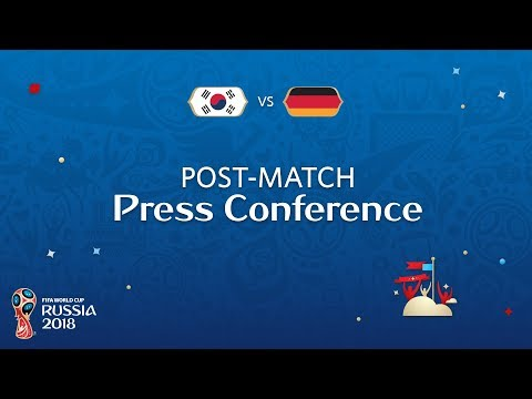 FIFA World Cup™ 2018: Korea Republic v. Germany - Post-Match Press Conference