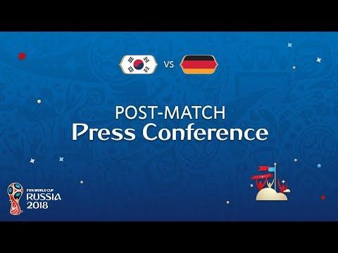 FIFA World Cup™ 2018: Korea Republic v. Germany  PostMatch Press Conference