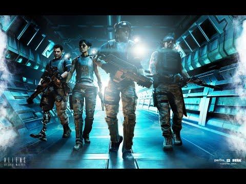 Смотреть игру aliens colonials marines 2