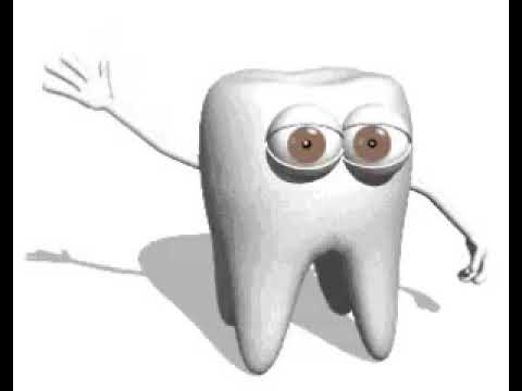 Днем, анимация картинки зубы