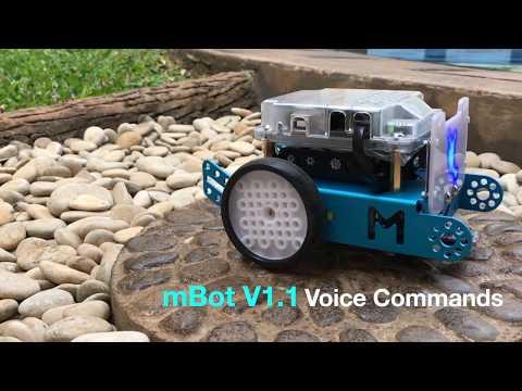 Mbot V1.1 Voice Commands Mobile Apps