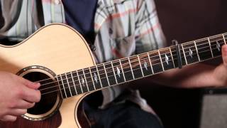 """How to Play """"Burnin' it Down"""" by Jason Aldean on guitar - super easy acoustic songs for guitar"""