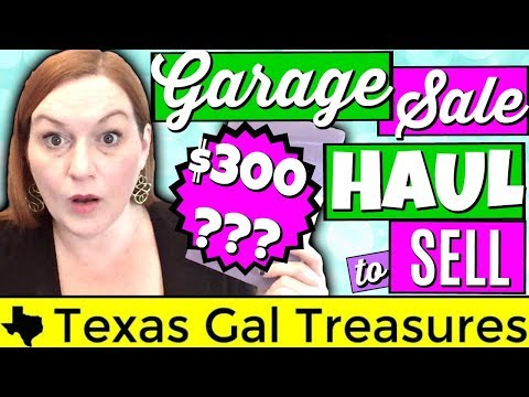My 1st Garage Sale Haul of 2018 - Thrift Store Haul 2018 - Lots of Jewelry and Vintage Items