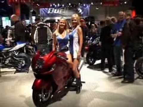 Girls & Motorcycles in Helsinki Motorcycle Fair 2007
