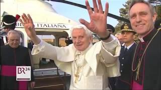 Der emeritierte Papst BenediktXVI feiert seinen 91. Geburtstag