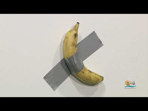T-Bone - A Banana Duct-Taped To Wall Fetches $120,000
