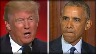 JUST IN: DONALD TRUMP REFUSES... BREAKS WITH OBAMA LIKE NEVER BEFORE