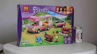 Mở hộp Bela 10168 Lego Friends 3184 Adventure Camper giá sốc rẻ nhất