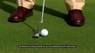 Règles de golf 2019 : Balle déplacée sur le green