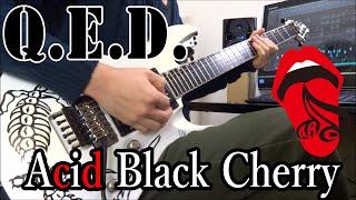 Acid Black Cherry 2ndアルバムのQ.E.D.より ギターソロを弾いてみまし...