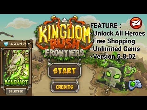 [Fixed] Kingdom Rush Frontiers Mod Apk |Free Shoping |V.4.2.32 |Unlocked All Heroes |Unlimited Gems | Thủ thuật máy tính và điện thoại 1