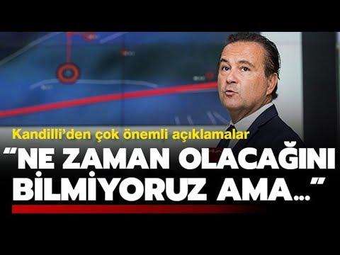Kandilli Rasathanesi Müdüründen Önemli İstanbul Depremi Açıklaması